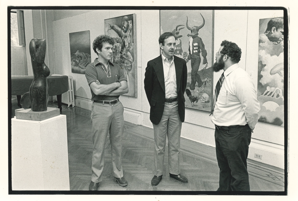 Ralph Pascale, Director of the Junior Museum, in our galleries on 2nd Street in 1981.