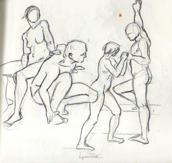 Figure Drawing: The Figure in Motion – The Arts Center of