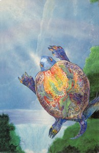I am the one who hold the spirit of your totem sea turtle 72dpi